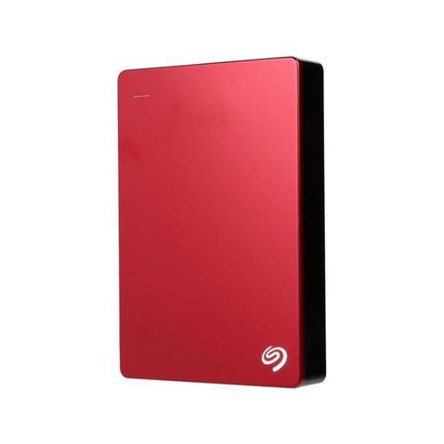 Seagate Backup Plus 5TB USB 3.0 Portable External Hard Drive - STDR5000103 (Red)