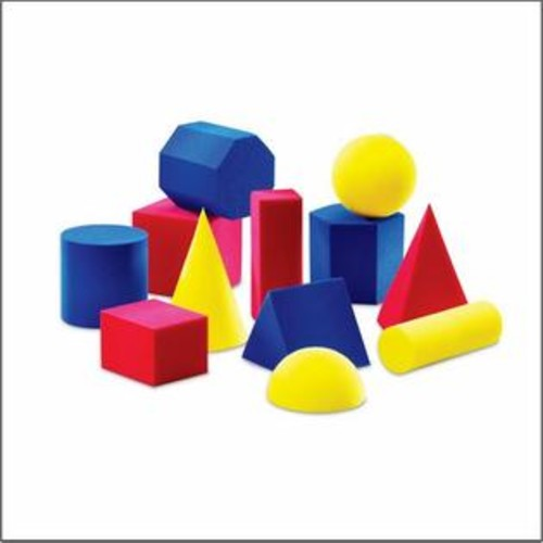Learning Resources Hands-On Soft Geometric Solids