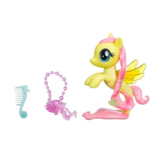 My Little Pony The Movie Fluttershy Glitter and Style Sea Pony Playset