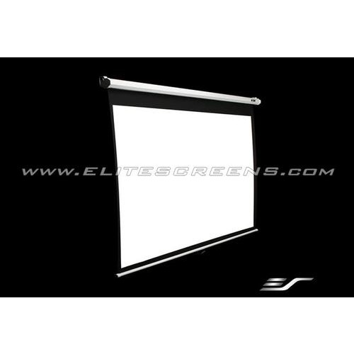 Elite Screens Manual, 139-inch 16:10, Pull Down Projection Manual Projector Screen with Auto Lock, M139UWX [Black, 16:10, 139-inch]