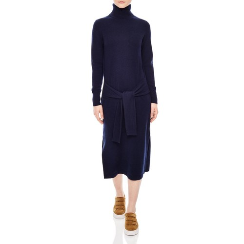 SANDRO Tais Wool-Blend Knit Dress