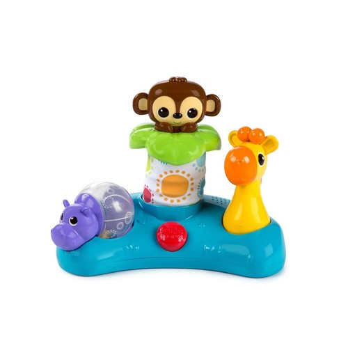 Bright Starts Lights and Laughs Safari Interactive Toy