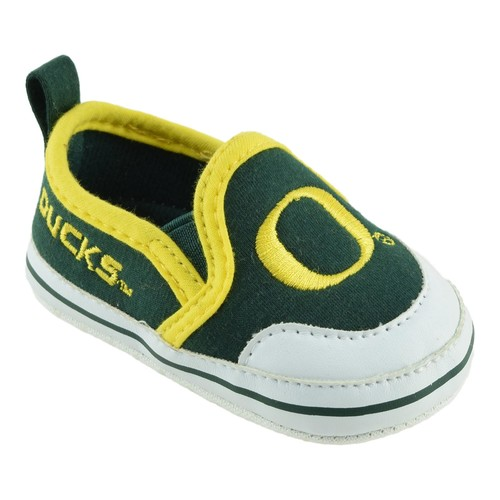 born & Infant University of Oregon Ducks Soft Sole Shoes