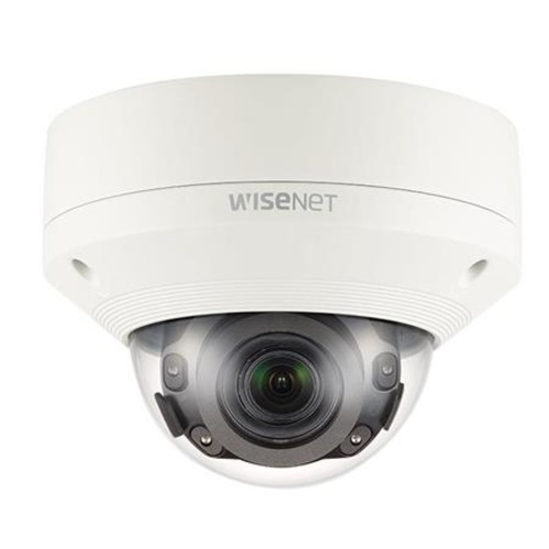 WiseNet X powered by WiseNet 5 network IR outdoor vandal dome camera, 2MP, Full HD 1080p @60fps WDR off or @30fps WDR on