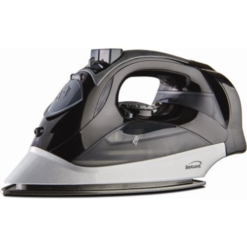 Brentwood (MPI-59W) Steam Iron With Retractable Cord (White)