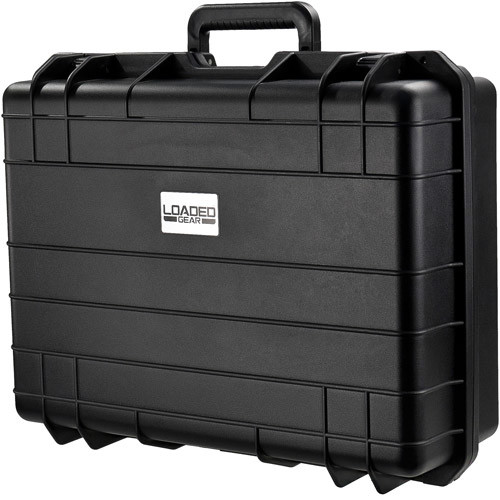 Loaded Gear HD-400 Hard Case, Black, Large by BARSKA