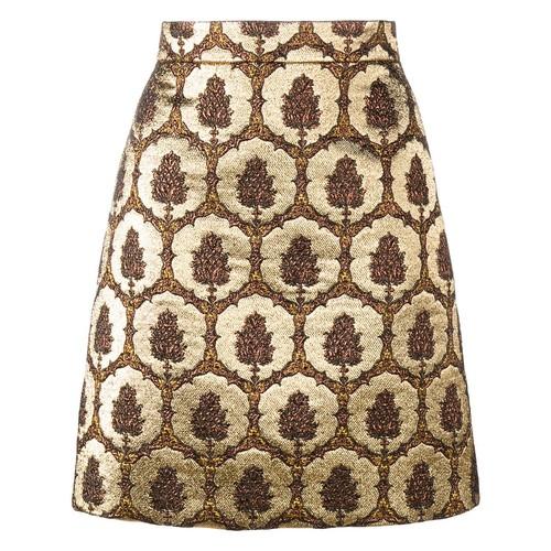 GUCCI Jacquard Mini Skirt