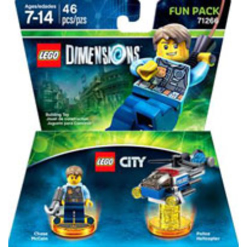 LEGO Dimensions Fun Pack: LEGO City's Chase McCain