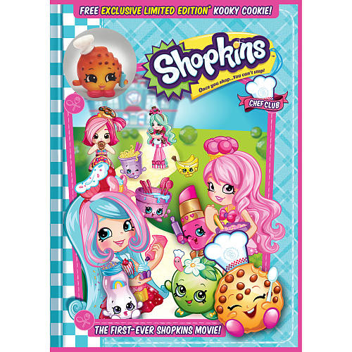 Shopkins The Movie DVD with Shopkin Toy