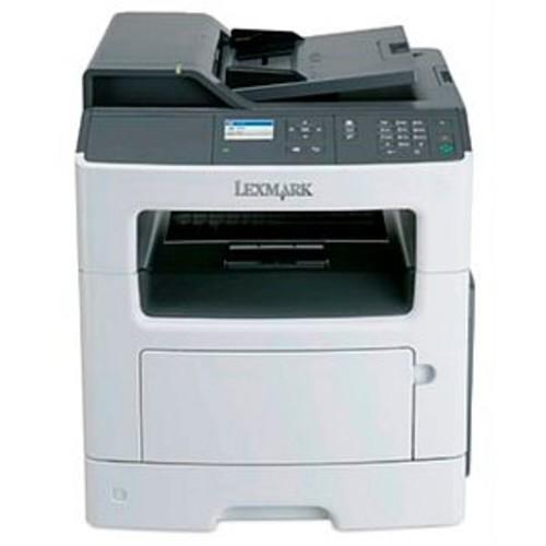 Lexmark MX317dn Black & White Laser Multifunction Printer - Monochrome, 1200 x 1200 DPI, 35 PPM, Fax, Copier, Printer, Scanner, USB 2.0, LAN - 35SC700
