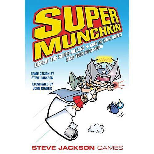 Steve Jackson Games Super Munchkin Card Game