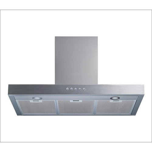 Winflo 30 in. Convertible Wall Mount Range Hood in Stainless Steel with Aluminum Filter, LED Lights and Push Button