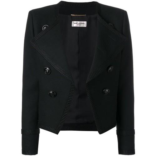 SAINT LAURENT Spencer Cropped Jacket