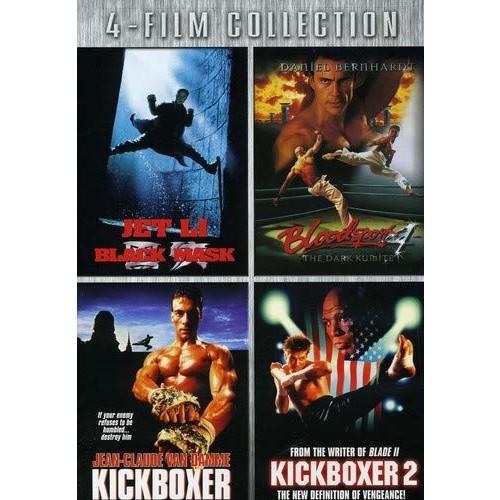 Four-Film Collection: (Black Mask / Bloodsport 4 / Kickboxer / Kickboxer 2)