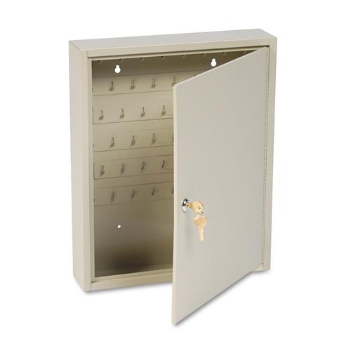 STEELMASTER MMF201806003 Dupli-Key Two-Tag Cabinet, 60-Key, Welded Steel, Sand, 14 x 3 1/8 x 17 1/2