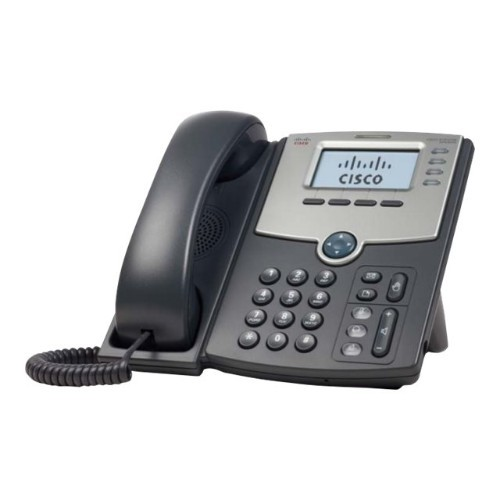 Cisco Small Business SPA 504G - VoIP phone - SIP, SIP v2, SPCP - 4 lines - remanufactured