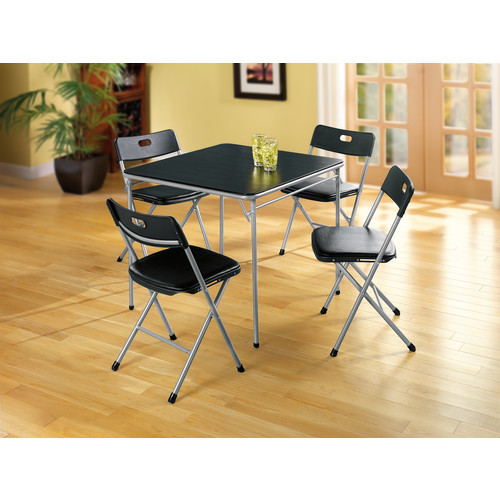 Cosco Home and Office Products 5-piece Card Table and Chairs