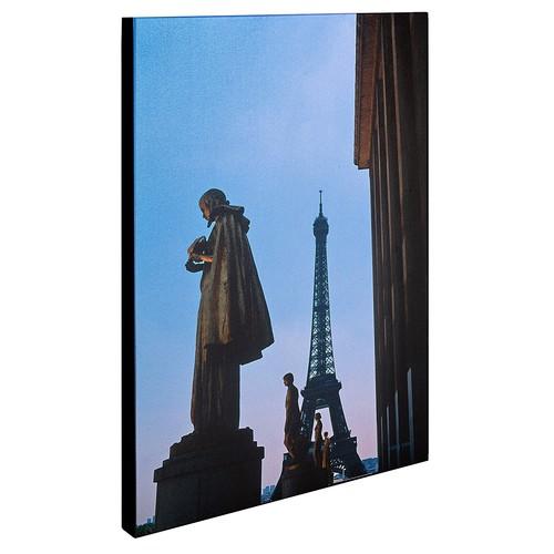 View of Eiffel from Trocadero by Kathy Yates, 16x24-Inch Canvas Wall Art [16 x 24 Inch]