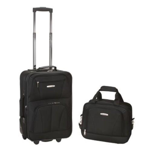 Rockland 2-Piece Wheeled Luggage Set