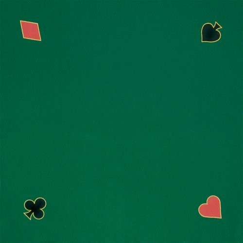 Trademark Poker Green Playing Felt 40-Inch x 40-Inch : Poker Tables : Sports & Outdoors