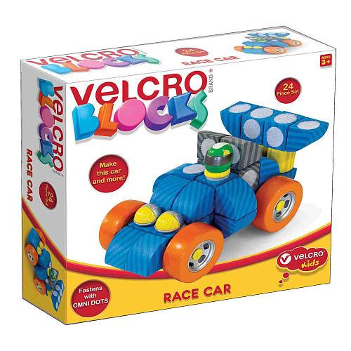 Velcro Kids Basic Race Car 24 Piece set