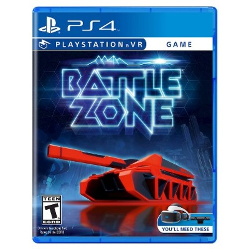 Battlezone Game VR for Sony PS4