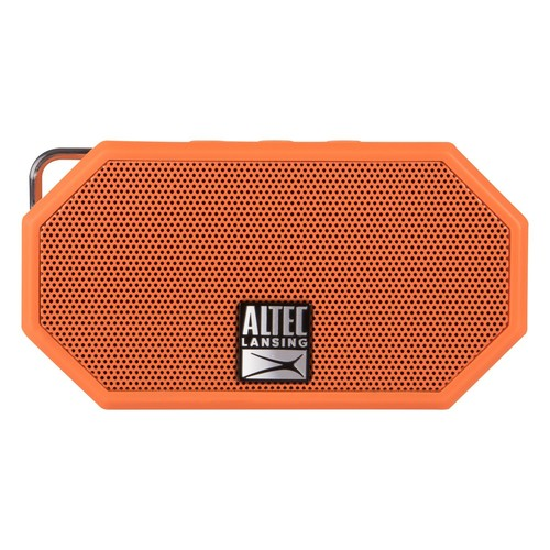 Altec Lansing - Mini H2O Bluetooth Speaker - Orange