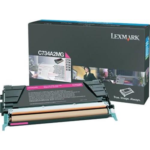 Lexmark Magenta Toner Cartridge (C734A2MG)