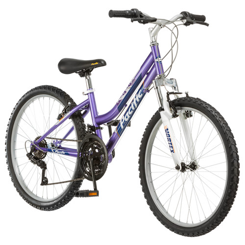 Pacific Evolution 24 Inch Girl's Mountain Bike