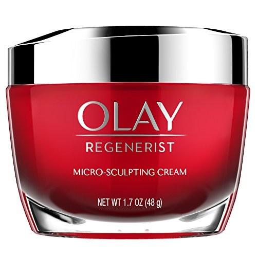 Olay Face Moisturizer Cream, Regenerist Micro-Sculpting Cream, 1.7 oz (packaging may vary)