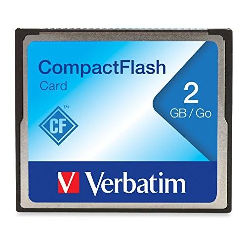Verbatim 2GB CompactFlash Memory Card 47012