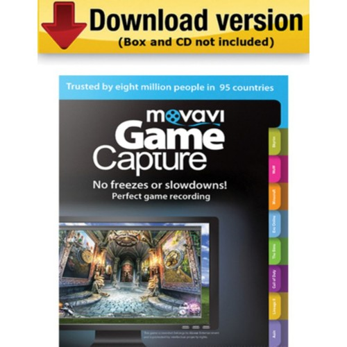 Movavi Game Capture 4 Business Edition for Windows (1 User) [Download]