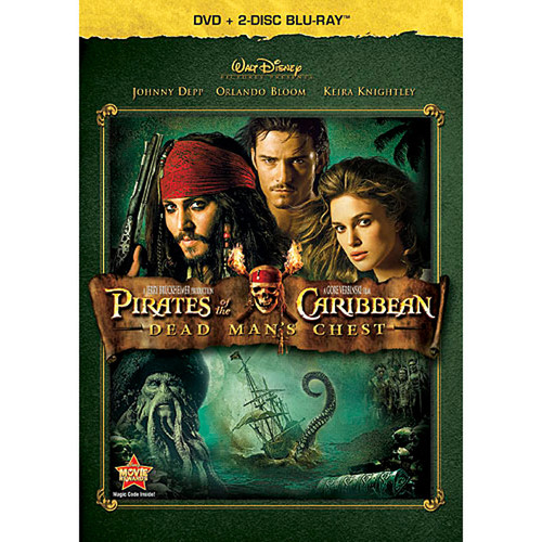 Pirates of the Caribbean: Dead Man's Chest (DVD + 2-Disc Blu-ray)