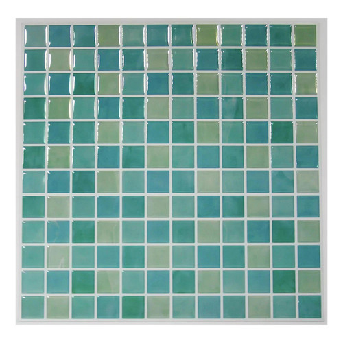 RoomMates Blue Mosaic StickTILES Wall Decal 4-piece Set