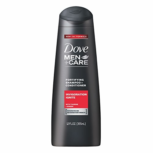 Dove Men+Care Shampoo and Conditioner, Invigoration Ignite, 12 oz