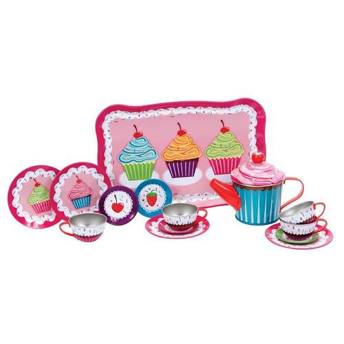 Schylling Cupcakes Tin Tea Set [Cupcakes]