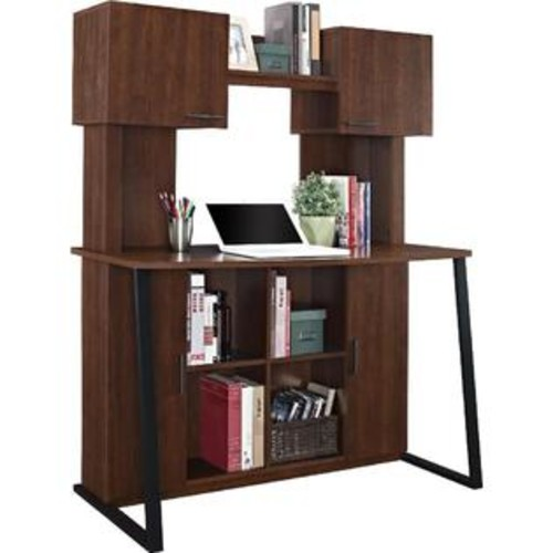 Altra Furniture Altra Hanson Desk With Hutch, Cherry