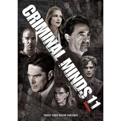 Criminal Minds: The Eleventh Season [6 Discs] [DVD]
