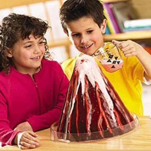Learning Resources Erupting Volcano Model [1]