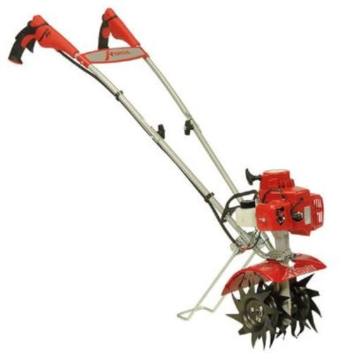 Mantis 21cc 2-Cycle Plus Gas Mini Tiller with FastStart