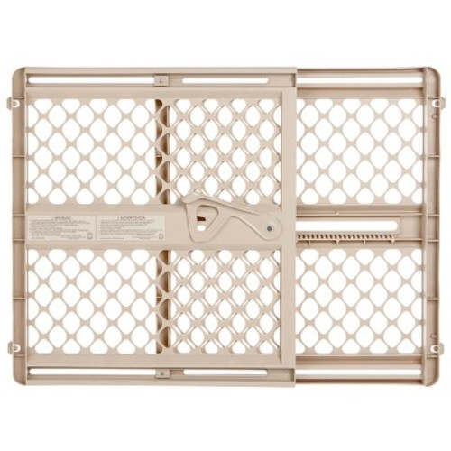 North States Supergate Ergo 28-42 inch Baby Safety Gate - Sand