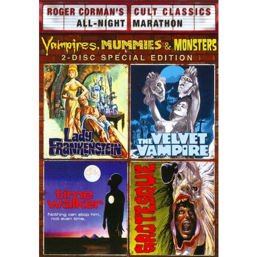 Roger Corman's Cult Classics: Vampires, Mummies & Monsters [2 Discs] [DVD]
