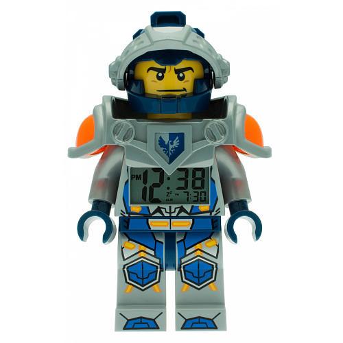 LEGO Nexo Knight Minifigure Clock - Clay