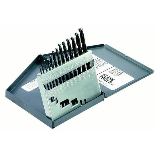 KLEIN TOOLS 53002 13-Piece Regular-Point Drill-Bit Set G0768489