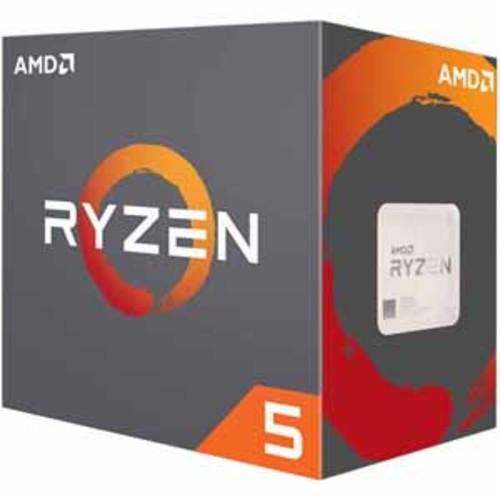 AMD Ryzen 5 1600X Processor 6 Cores / 12 Threads 19MB Cache 4.0 GHz Precision Boost AM4