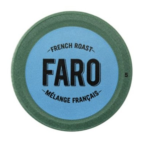 Faro French Roast Coffee, Compostable Single Serve Cup for Keurig Brewers, 12 Count (P-1051544)