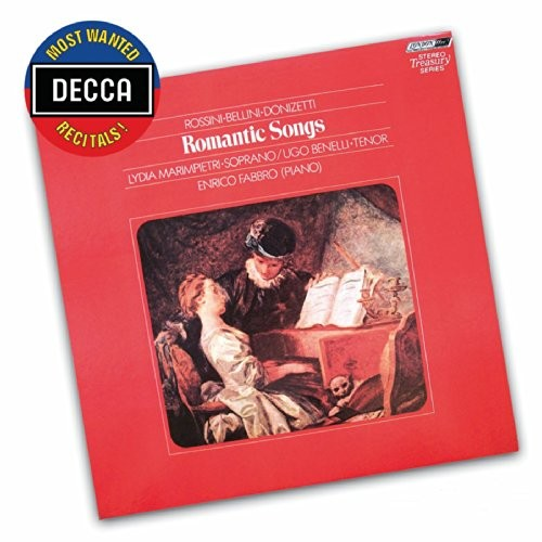 Most Wanted Recitals!: Romantic Songs By Rossini, Bellini, Donizetti