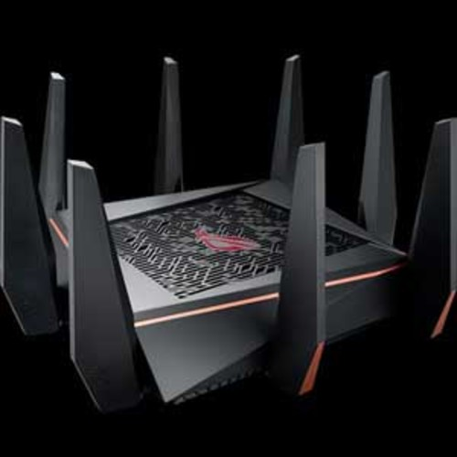 Asus ROG Rapture Wireless AC5300 Tri-Band Gaming Router - Best Solution for VR Gaming and 4K Streaming
