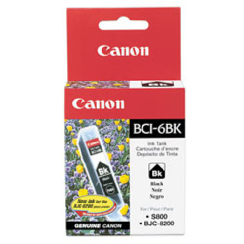 Canon BCI-6 Black Ink Tank (4705A003)
