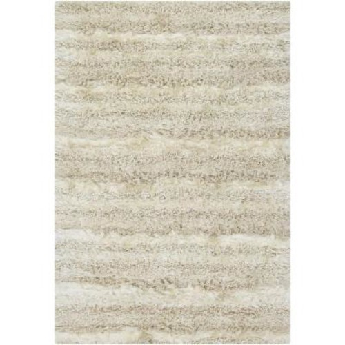 Chandra Kapaa Cream/Beige 7 ft. 9 in. x 10 ft. 6 in. Indoor Area Rug